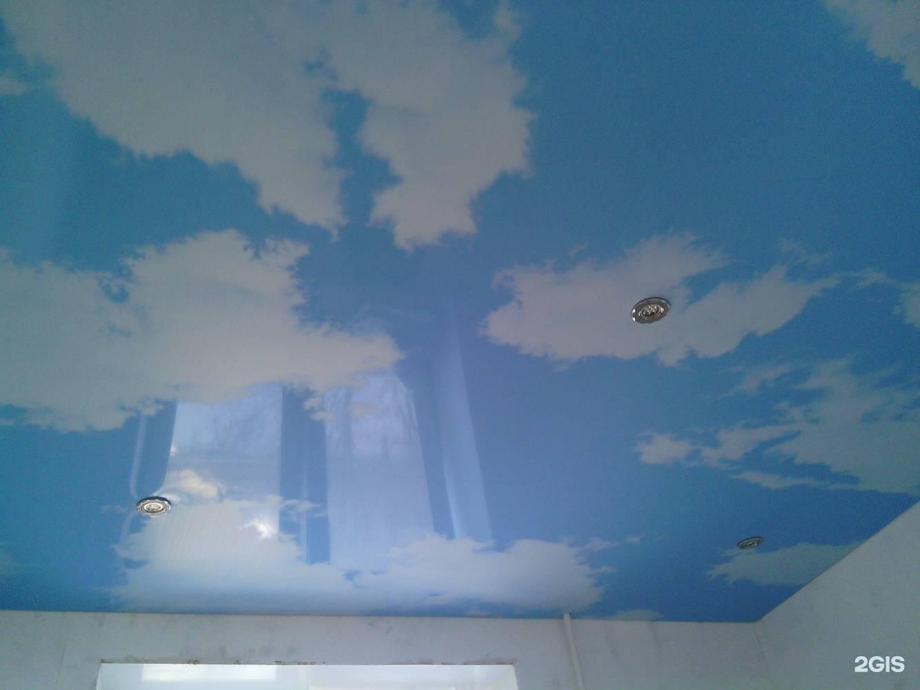 Рисуем облака на потолке своими руками