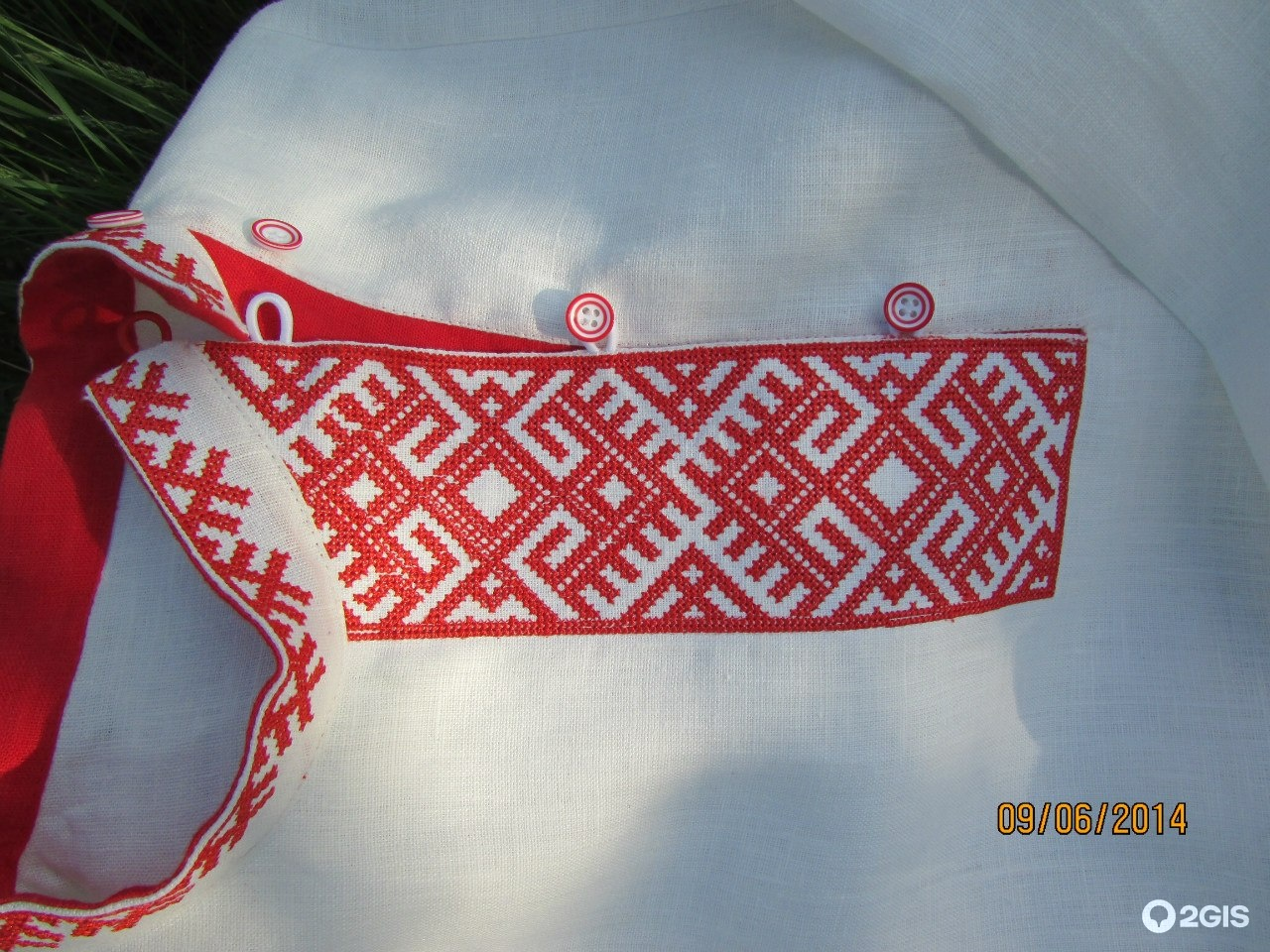 Славянская вышивка на мужское