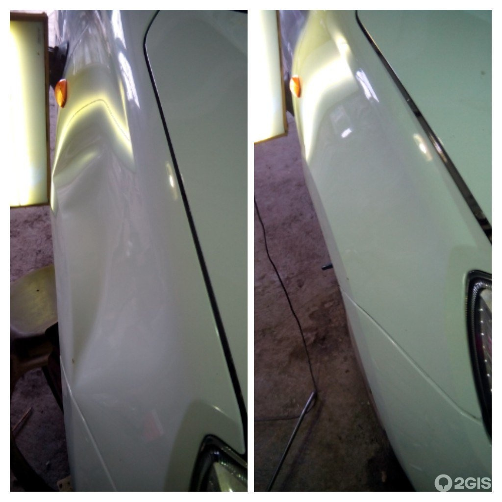 Кузовной ремонт своими руками вмятины