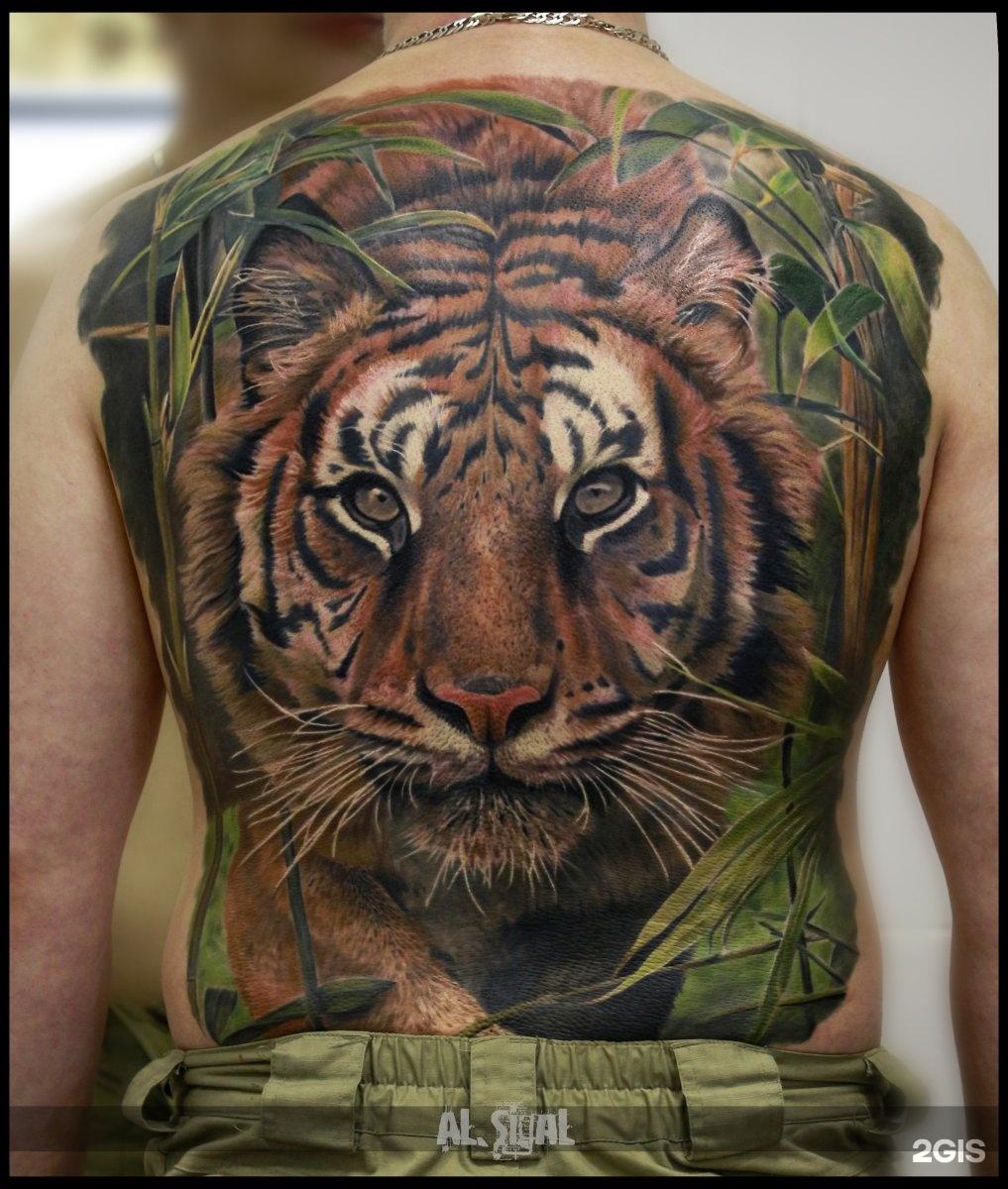Лучшие тату с тигром на руке
