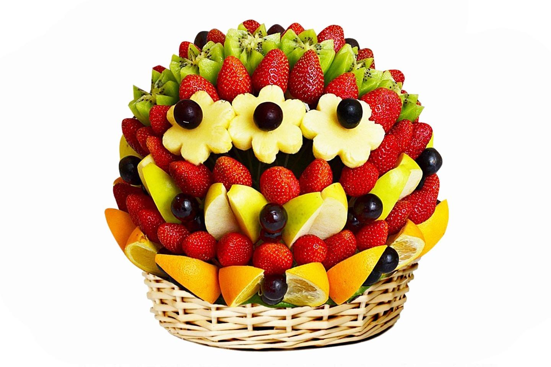 Букеты из фруктов ульяновск, цветов алми