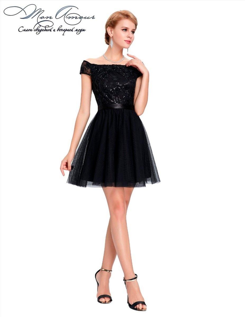 черные платья 2016 фото коктейльные