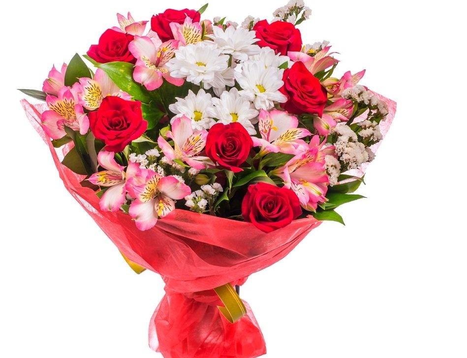 Цветочные композиции и составление букетов из роз альстромерий хризантем, форевер цветы