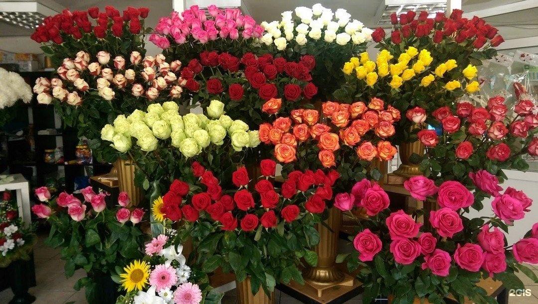 Срезанные цветы, букеты цена, розы