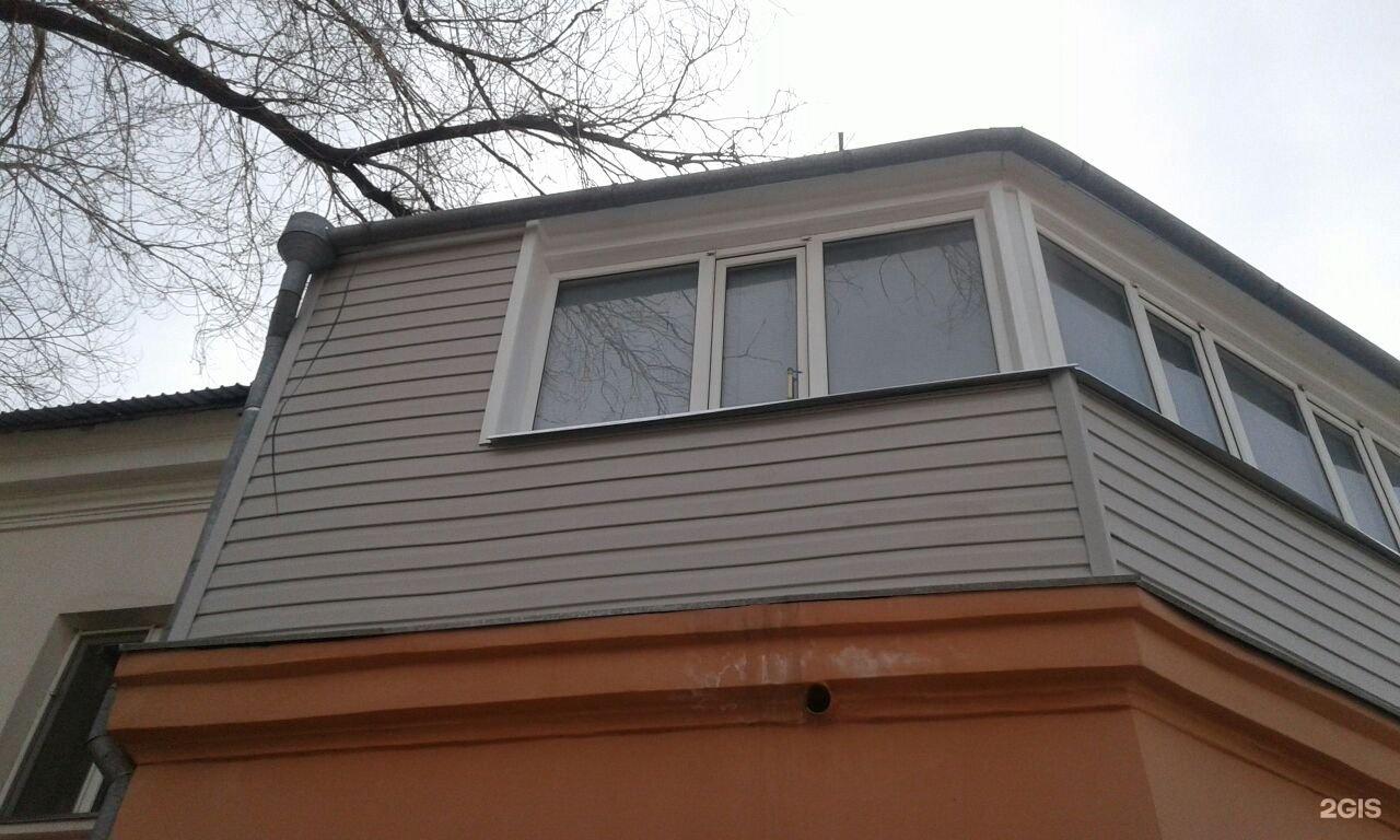 Обшивка балкона сайдингом, вид операции предложение караганд.