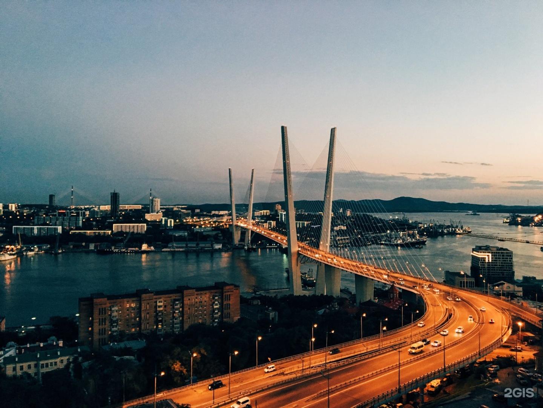 Открыток, картинка владивосток мост